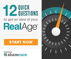 Take our What's Your RealAge? quiz